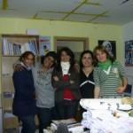 Lina, Rola, Gülay, Nurcan und Saranda von rechts